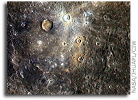 MESSENGER Image of Mercury: Dominici Crater