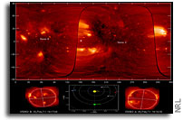 NRL Researchers View the Sun in 3-D
