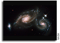 Image: A Tale of Three Galaxies