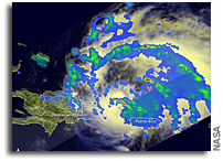 Hurricane Irene As Seen By the Tropical Rainfall Measuring Mission