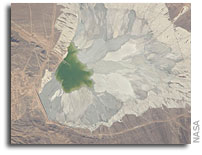 Photo: Escondida Copper Mine in the Atacama Desert As Seen From Orbit