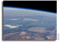 Photo: Central Andes Mountains, Salar de Arizaro As Seen From Orbit
