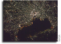 Photo: Tokyo At Night As Seen From Orbit