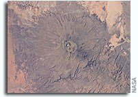 Photo: Emi Koussi Volcano in Chad As Seen From Orbit