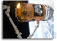 Photos: Japan's HTV2 Docks With The International Space Station