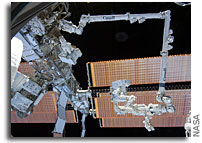 Photos: Canada's Dextre Robotic Arm Working in Space