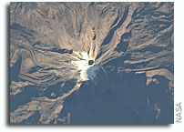 Photo: Pico de Orizaba, Mexico As Seen From Orbit