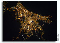 Photo: New Orleans At Night As Seen From Orbit