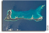 Photo: Cat Island, Commonwealth of the Bahamas As Seen From Orbit