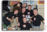 Photo: Space Station Crew Celebrates Yuri's Night On Orbit
