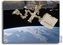 Image: Dextre At Work On Orbit
