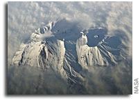 Photo: Avachinsky Volcano As Seen From Orbit