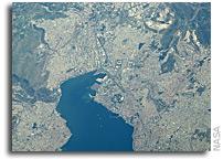 Image: Izmir Province in Turkey As Seen From Orbit