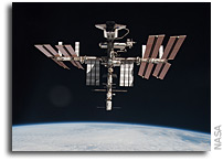 NASA Finally Releases Photos of Endeavour Docked at ISS