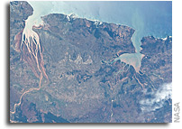 Image: Estuaries on the northwestern coast of Madagascar As Seen From Orbit
