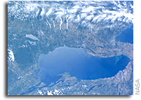 Photo: The Finger Lakes in Upstate New York as Seen From Space