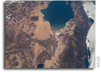 Photo: Baja California and the Gulf of Cortez as seen from Orbit