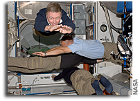 Photo: Astronauts Planking in Space