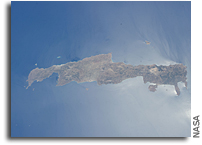 Photo: Crete As Seen From Orbit