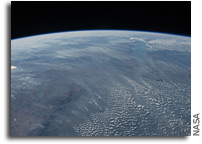 Image: Biomass Burning in Southern Africa As Seen From Orbit