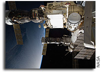 Photo: Soyuz and Progress Spacecraft Docked at The International Space Station