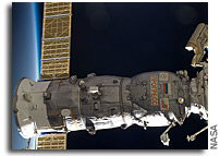 Photo: An EVA Outside the Russian Segment of the ISS