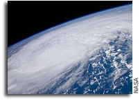 Photo: Hurricane Irene As Seen From The International Space Station