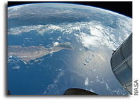 Photo: Gulf of Cortez and California As Seen From The International Space Station