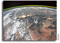 Photo: The American West As Seen From the International Space Station At Night