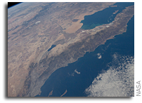 Photo: The United States and Mexico - Gulf of Cortez and  Baja California - As Seen From Space