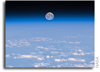 Photo: Moonrise As Seen From the Space Station