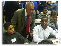 NASA Administrator Speaks To Richmond Middle School Students