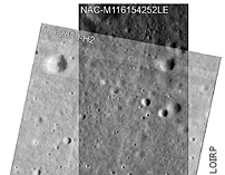 New Lunar Crater Search Using LROC-NAC Vs LOIRP Lunar Orbiter Images