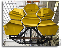 NASA's James Webb Space Telescope Completes First Round of Cryogenic Mirror Test