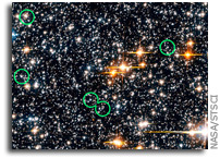 Hubble Finds Rare Blue Straggler Stars in Milky Way's Hub