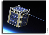 MSU's twin satellite to launch Oct. 28 on NASA rocket