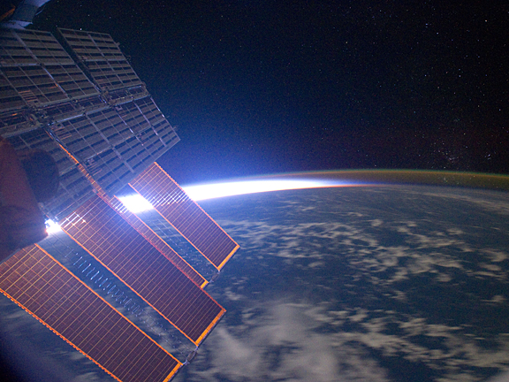 Space Station Solar Panels - Pics about space
