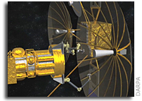 Innovators Sought for DARPA Satellite Servicing Program