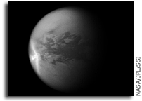 Image: Titan's Arrow-Shaped Storm
