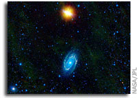 Partner Galaxies Wildly Different in New WISE Image