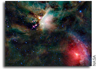 Photo: Rho Ophiuchi Cloud Complex As Seen By WISE