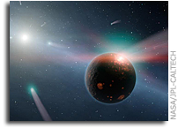 NASA's Spitzer Detects Comet Storm In Nearby Solar System