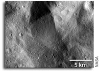 Dawn Obtains First Low Altitude Images of Vesta