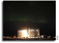 Season's Greetings From the Other Extreme: Concordia Research Base in Antarctica