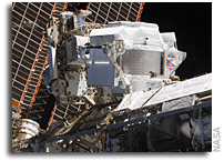 Alpha Magnetic Spectrometer-2 Installed on the International Space Station