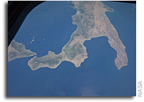 Photo: The Boot of Italy As Seen From Orbit