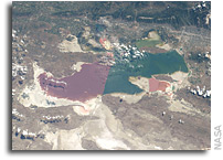 Photo: Great Salt Lake As Seen From Orbit