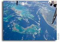 Photo: Tongue of the Ocean As Seen From Orbit