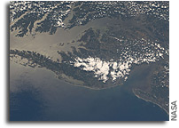 Image: Delmarva Peninsula As Seen From Orbit