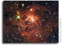 Photo: A Massive Star and Its Cradle